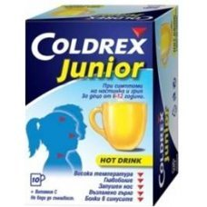 КОЛДРЕКС ДЖУНИЪР 10 сашета / COLDREX JUNIOR