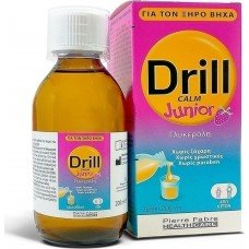 ДРИЛ КАЛМ ДЖУНИЪР сироп 200 мл./ DRILL CALM JUNIOR syrup