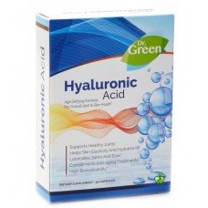 ХИАЛУРОНОВА КИСЕЛИНА 50мг 30 капсули, HYALURONIC ACID Dr.Green