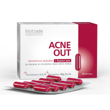 АКНЕ АУТ 30 капсули Биотрейд, Acne Out