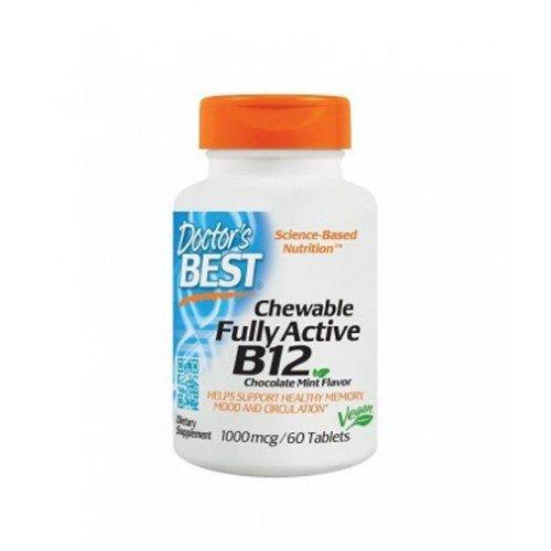 Витамин В12 1000мг 60 таблетки Д-р Бест/ DOCTORS BEST