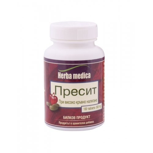 Пресит при високо кръвно налягане 100 таблетки/ Presit