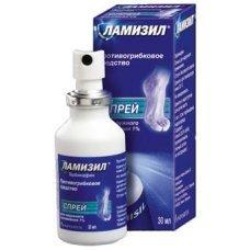 ЛАМИЗИЛ спрей, LAMISIL spray