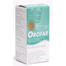 ОРОФАР спрей за гърло 30мл., OROFAR spray
