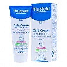 МУСТЕЛА БЕБЕ КОЛД КРЕМ ЗА СУХА КОЖА предпазва, подхранва и успокоява - 40мл. Mustela Bеbе Cold Cream Nutri-Protective