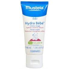 МУСТЕЛА ХИДРА БЕБЕ КРЕМ ЗА ЛИЦЕ хидратира и омекотява 40мл. Mustela Hydra Bebe facial cream