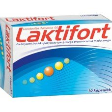 ЛАКТИФОРТ 10 капсули, LAKTIFORT