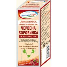 ЧЕРВЕНА БОРОВИНКА + Витамин С и Е 10 капсули, HARMONY LIGHT