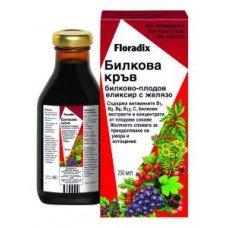 ФЛОРАДИКС БИЛКОВА КРЪВ - Билково-плодов еликсир с желязо 250 мл., FLORADIX
