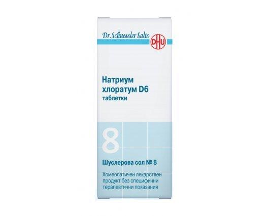 Шуслерова сол № 8 Натриум хлоратум D6 420 таблетки, DR. SCHUESSLER SALTS  Natrium chloratum D6