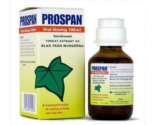 ПРОСПАН сироп за кашлица с листа от бръшлян 100 мл., PROSPAN