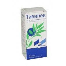 ТАВИПЕК 150 мг. 30 капсули, TAVIPEC