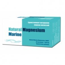 МАГНЕЗИЙ МАГНЕ МАРИН 350 мг. 30 капсули, NATURAL MAGNESIUM MARINE