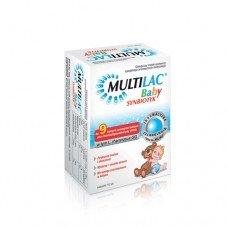 МУЛТИЛАК БЕЙБИ синбиотик 10 сашета, MULTILAC BABY