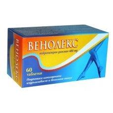ВЕНОЛЕКС  400 мг. 60 таблетки, VENOLEX