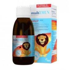 МУЛТИИМУН сироп с бета глюкан и витамин С125мл., MULTIIMUN