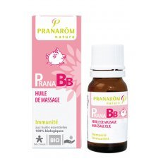 ПРАНАБЕБЕ МАСАЖНО МАСЛО ЗА ИМУНИТЕТ 10 мл. ПРАНАРОМ, PRANAROM PRANA BB HUILE DE MASSAGE IMMUNITE