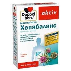 ДОПЕЛХЕРЦ АКТИВ ХЕПАБАЛАНС 30 капсули, DOPPELHERZ ACTIV HEPABALANCE