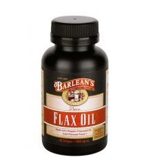 ЛЕНЕНО МАСЛО 1000 мг. 45капсули, FLAX OIL BARLEANS