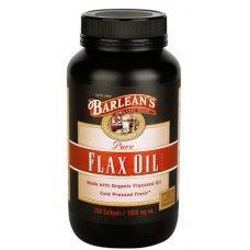 ЛЕНЕНО МАСЛО 1000 мг. 250 капсули, FLAX OIL BARLEANS