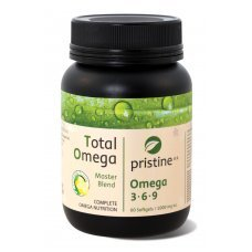 ТОТАЛ ОМЕГА оптимални нива на Омега 3 6 9, 1000 мг. 60 капсули ПРИСТИН, TOTAL OMEGA 1000 mg. PRISTIN