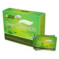 ЗЕЛЕНО КАФЕ 800 за отслабване 18 сашета, GREEN COFFEE