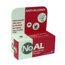 НОАЛ ЯГОДА АНТИАЛЕРГИЧЕН ПРАХ ЗА НОС - СПРЕЙ 500 мг, NoAL STRAWBERRY ANTI-ALLERGY POWDER 500mg