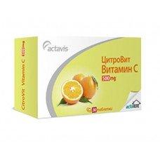 ЦИТРОВИТ Витамин С 500мг. подсилва имунната система 10 табл., CITROVIT VITAMIN C