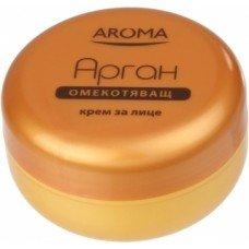 АРОМА ОМЕКОТЯВАЩ КРЕМ ЗА ЛИЦЕ АРГАН  75мл., AROMA