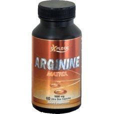 Arginine Matrix, Explode, L-arginine Base и AAKG 60 капсули х 1000 мг
