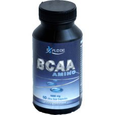 BCAA Amino capsules, Explode, аминокиселини с разклонена верига, 60 капсули х 1000 мг