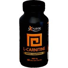 L-carnitine, Л-карнитин, Explode, 60 капсули