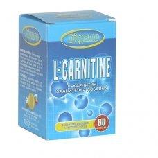 БИОГЕЙМ Л-КАРНИТИН, BIOGAME L-CARNITINE, за намаляване на теглото и изгаряне на мазнини, 60 капсули х 500 мг