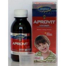 БИОГЕЙМ Апровит+, BIOGAME Аprovit+, комбиниран продукт с витамини, протеини, въглехидрати, имуностимулант, 150 мл - вкус портокал