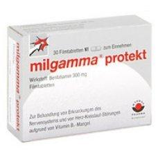 МИЛГАМА ПРОТЕКТ 300 мг. 30 таблетки, MILGAMMA PROTECT