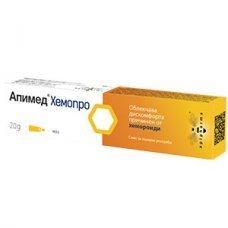 АПИМЕД ХЕМОПРО маз при хемороиди 20г., APIMED HEMOPRO