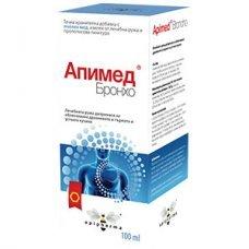 АПИМЕД БРОНХО сироп 100мл., APIMED BRONCHO