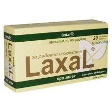 ЛАКСАЛ меко слабително 30 капсули, LAXAL