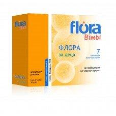 ФЛОРА ЗА ДЕЦА за поддържане на чревния баланс 10 сашета, FLORA BIMBI ABO Pharma