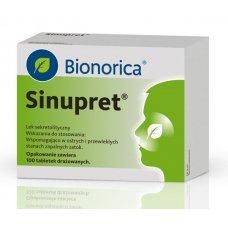 СИНУПРЕТ 100 обвити таблетки, SINUPRET