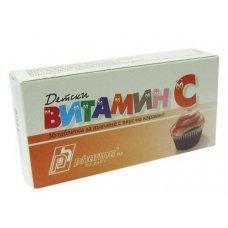 ВИТАМИН С 30 таблетки за дъвчене с вкус на карамел, Vitamin C