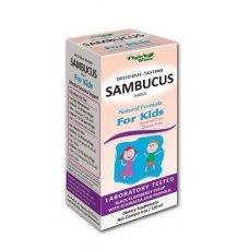 САМБУКУС НИГРА с ехинацея и прополис сироп за деца 120мл., SAMBUCUS NIGRA for kids
