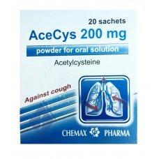АЦЕЦИС 200 мг. 20 сашета, ACECYS