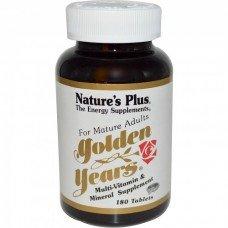Нейчърс Плюс -Златни Години 90 таблетки, Nature's Plus -  Golden Years Multivitamin 90 tabs