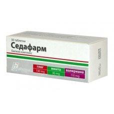 СЕДАФАРМ 50 таблетки, SEDAPHARM