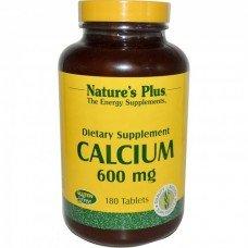 Нейчърс Плюс - Калций 600 мг , 90 таблетки, Nature's Plus -  Calcium 600 mg 90 Tabs