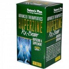 Нейчърс Плюс - Хиперзин Рх - Мозък, 30 таблетки,   Nature's Plus -  Huperzine Rx-Brain 30 Tabs