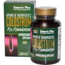 Нейчърс Плюс - Коластра 60 таблетки,   Nature's Plus -  Colostrum, 60 V/caps  60 Tabs