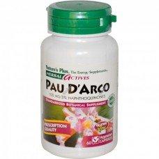 Нейчърс Плюс - Мравчено Дърво 60 В/капс,   Nature's Plus -Pau D'Arco 100 mg 60 3% Naphthoquinones