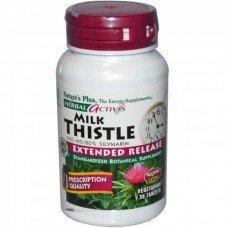 Нейчърс Плюс -Магарешки бодил / Силимарин от 500 мг 30 таблетки,   Nature's Plus -Milk Thistle 500 mg, 30 tabs